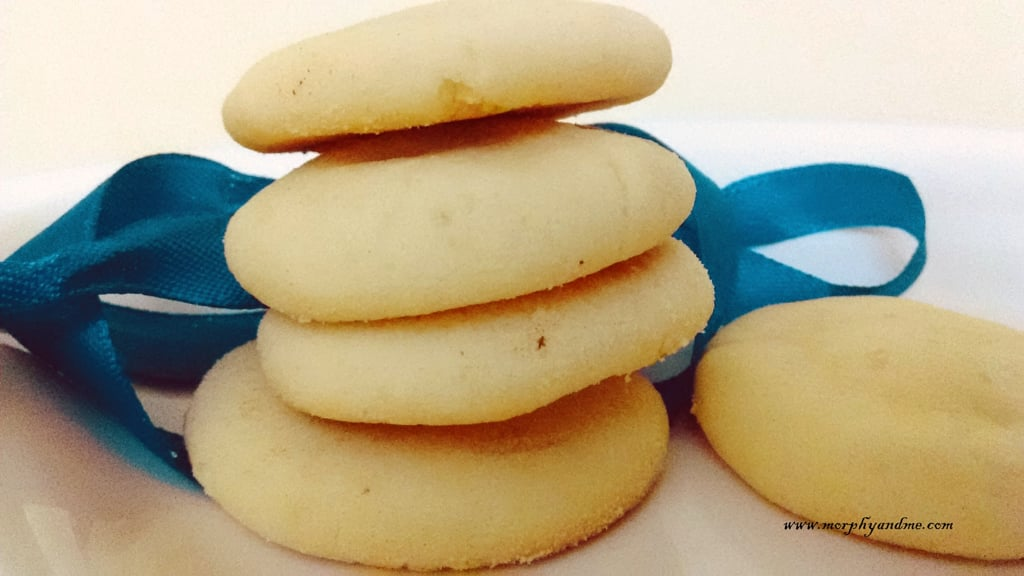 Simple Butter Biscuits- Easy Cookies With Just 3 Ingredients