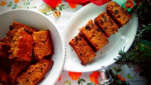 An Eggfree Christmas fruit cake recipe perfect for the winters and holiday season. This cake is vegan and alcohol free too