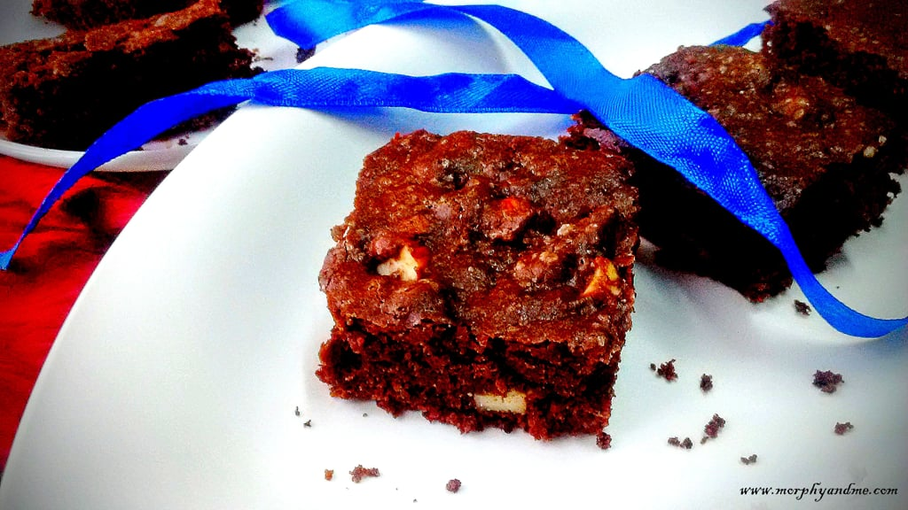 Whole Wheat Almond Brownies
