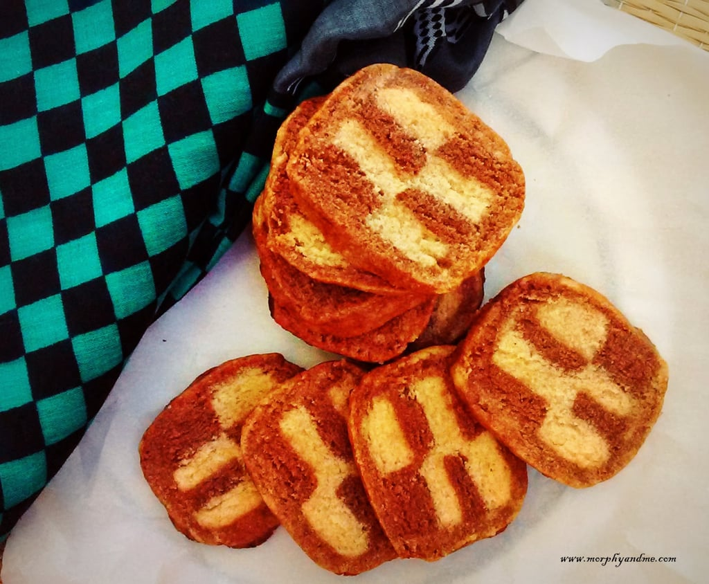 Checker Board Cookies