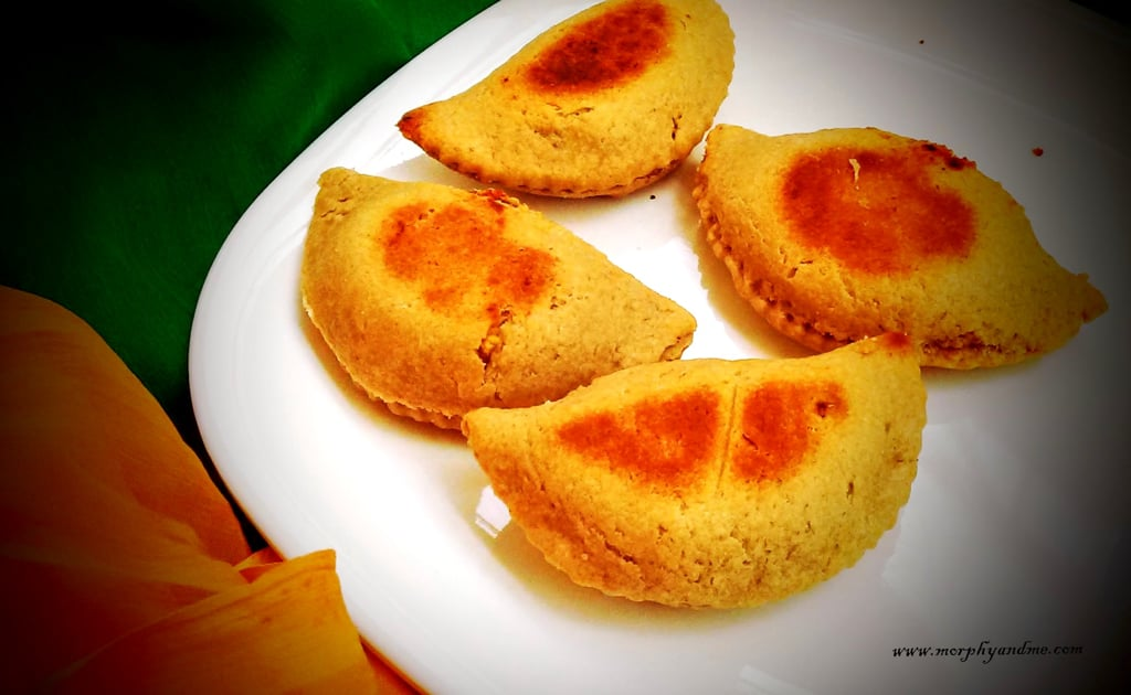 Holi Special- Baked Dry fruit and Khoya Gujiya