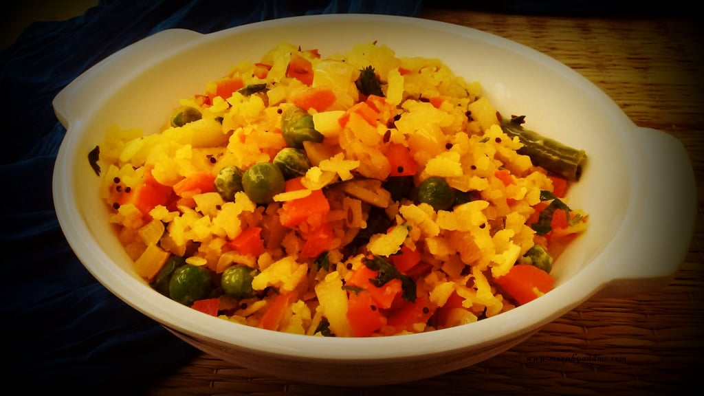 Vegetable Poha Recipe | Morphy And Me