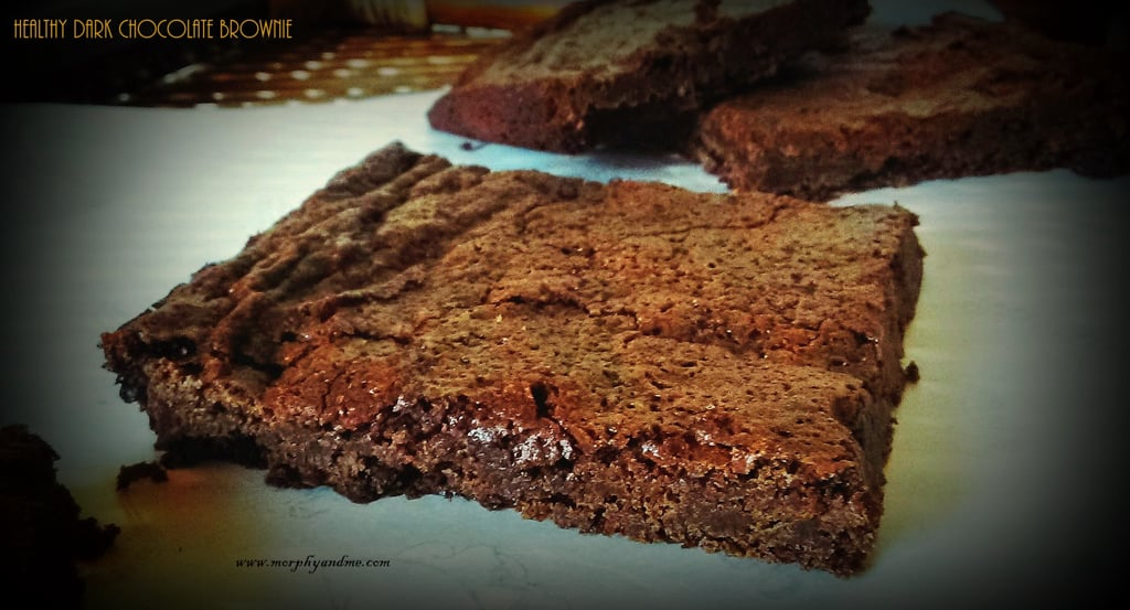Healthy Dark Chocolate Brownie