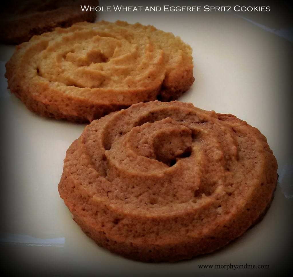 Whole Wheat Spritz Cookies
