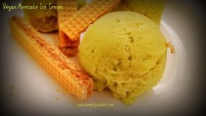 Easy no-churn 3 ingredient Vegan avocado Ice-cream. A healthy dessert to beat the heat. Home made ice creams taste so yum.