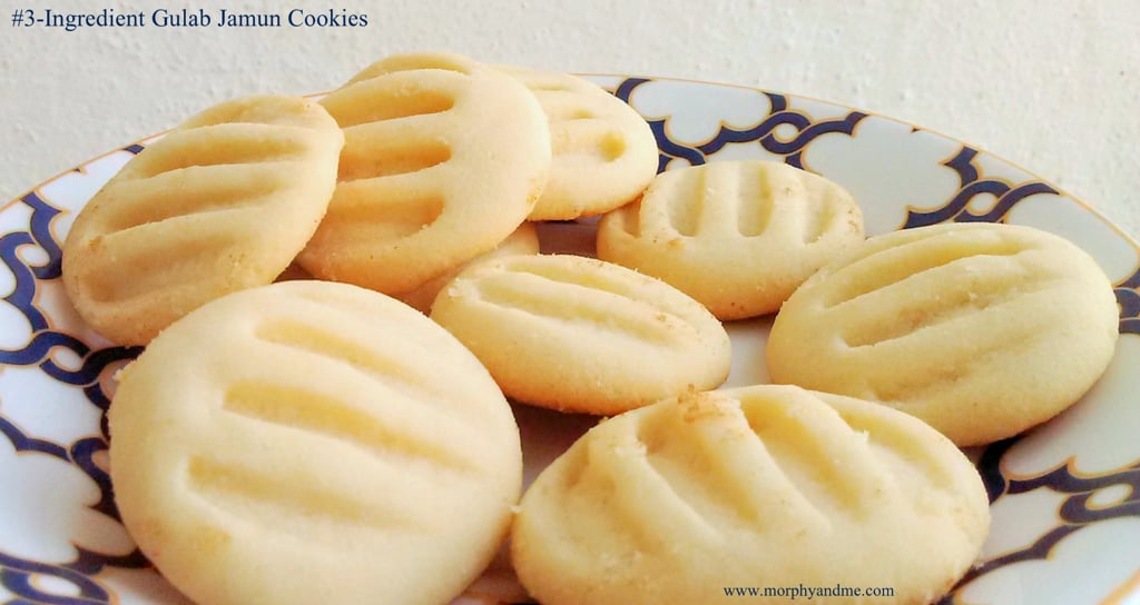 #3 Ingredient Gulab Jamun Cookies