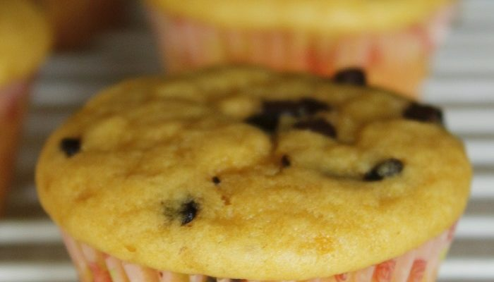 Eggless Wholewheat Chocolate Chip Muffins: Easy Baking Recipes