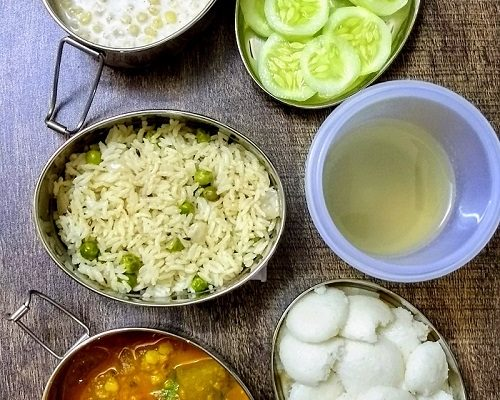Lunchbox Ideas- 4 | Idly- Sambhar and More