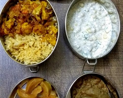 Lunchbox Idea 20 : Buckwheat Puri, Gobi Biryani And More