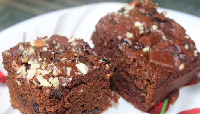 Rich Chocolate Cake | Choco Nuts Factory Rich Cake | Barley Wholewheat Flour Chocolate Cake